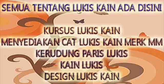 "SENI-LUKIS-KAIN-2 E1 CREATIVE and MM CRAFT on TRANS7  <span class=""embed-youtube"" style=""text-align:center; display: block;""><iframe class='youtube-player' type='text/html' width='665' height='405' src='https://www.youtube.com/embed/7tN9D_R7dTQ?version=3&rel=1&fs=1&autohide=2&showsearch=0&showinfo=1&iv_load_policy=1&wmode=transparent' allowfullscreen='true' style='border:0;'></iframe></span>  Welcome to Fabric Painting, Variety of Modes, Motifs, textures & Fabric Painting Course  We are one form of business that engages in goods and services specifically designed to supply clothing, scarves (silk, textiles, synthetics, etc.), and fabric painting training courses. We have applied these techniques to pruducts quality superior design that does not exist in other places, and our products is one of the popular consumer products in Asia and Europe as well as bookings in the design of painting materials in the field.  E1creative product is a genuine product made in Indonesia, which was done with hand painting techniques as distinct fro m the products that can provide satisfaction to our customers  Our product has gained the trust and customer satisfaction with our products, whether from domestic or foreign.  Get our original products only in e1creative / mmcraft.  SENI-LUKIS-KAIN-2  PRIVATE COURSES  We organize courses for individuals and groups, PrivatTraining painted on cloth with the various types of fabrics and with different types of paint, and fariasi painting techniques that produce beautiful fabrics and can produce various kinds of fabric-based product with: - Blouse Gamis - Tunic Shawl - Veil - Shirt - Bag - Shoes - Tablecloths, pillowcases - Wall hangings - And many others PAINT  We produce high-quality paints, with affordable prices, e1creative paint products have passed the laboratory test results so as to produce many varied colors, and color quality that empowered high resistance against environmental conditions and cost-effective in usage. Get our original products only in e1creative / mmcraft. Our superior paint product:  * Textile * Textile Floating * Silk * Synthetic * etc"